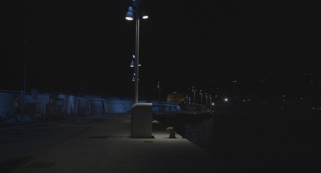 porto di santa margherita ligure di notte