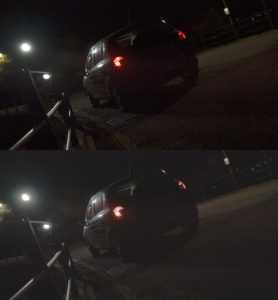 Log vs rec 709 illuminato